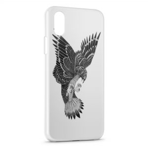 Coque iPhone XR Aigle