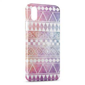 Coque iPhone XR Aztec Galaxy