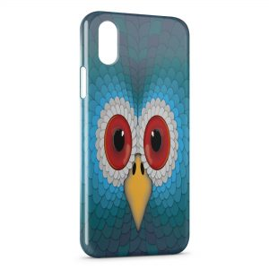 Coque iPhone XR Bird Face