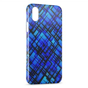 Coque iPhone XR Blue Dark Style