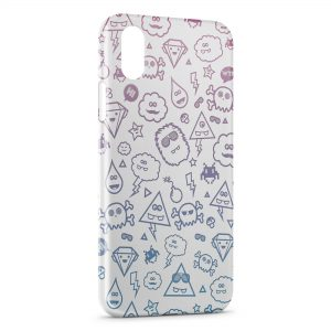 Coque iPhone XR Cute Monsters