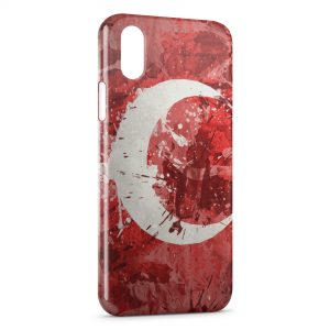 Coque iPhone XR Drapeau Anglais Vintage