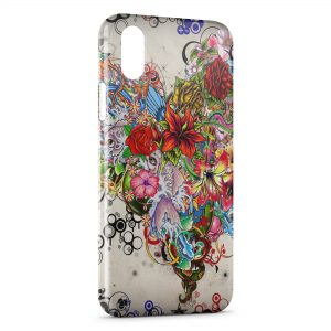 Coque iPhone XR Fish Art