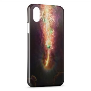 Coque iPhone XR Fish Power