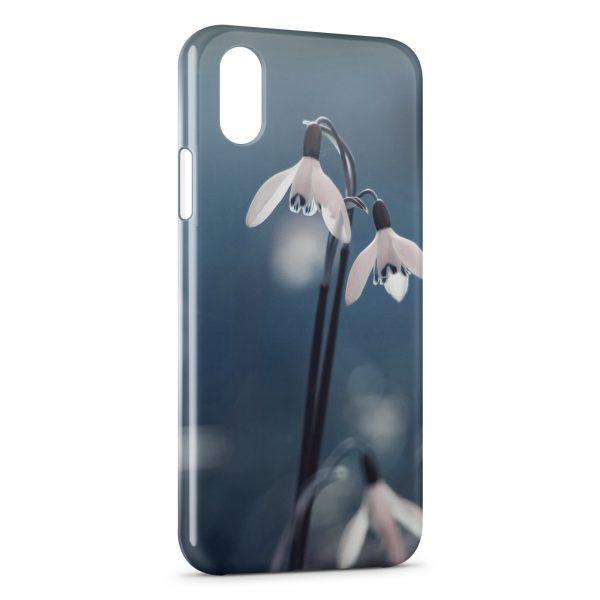 coque xr iphone fleurs