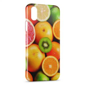 Coque iPhone XR Fruits