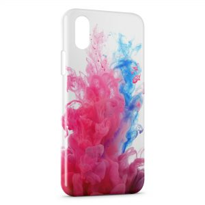 Coque iPhone XR Fumé Colorée