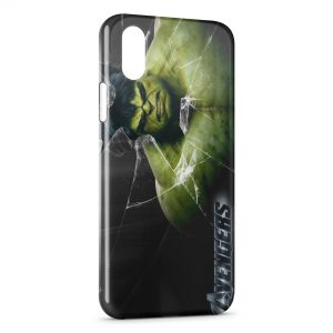 Coque iPhone XR Hulk