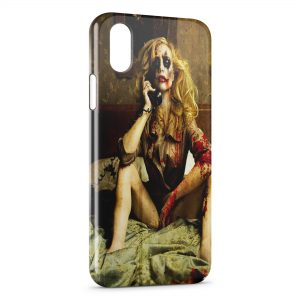Coque iPhone XR Joker Girl