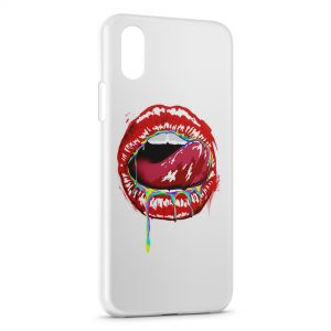 Coque iPhone XR Kiss Color