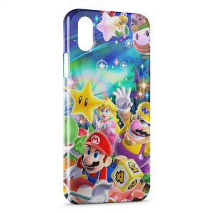 Coque iPhone XR Mario et ses amis