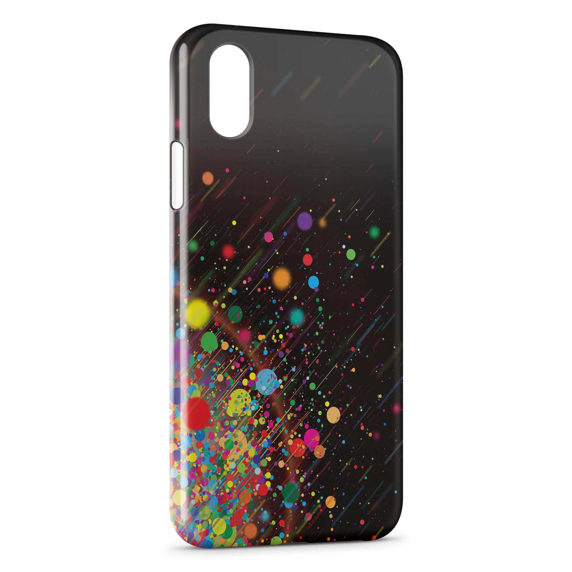 coque multicolor iphone xr