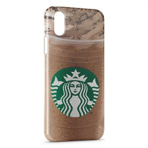 Coque iPhone XR Starbucks