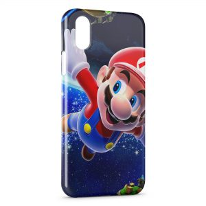 Coque iPhone XR Super Mario Galaxy 4