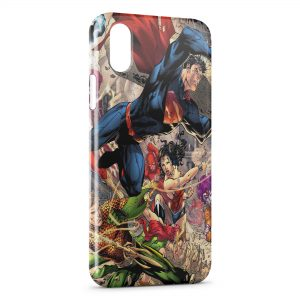 Coque iPhone XR Superman Comic
