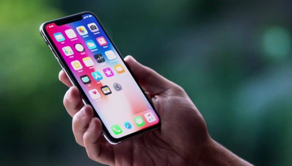 iPhone X écran OLED