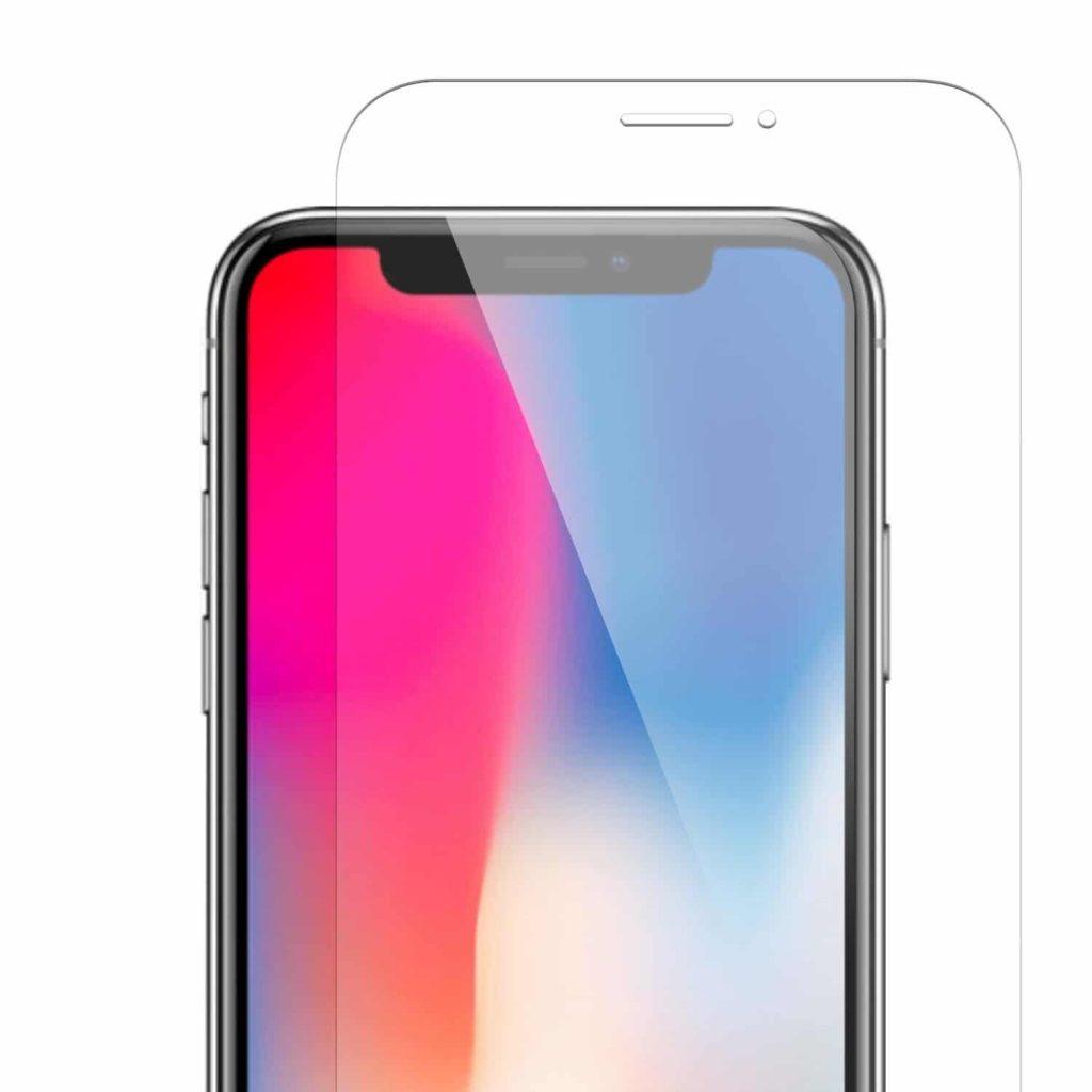 vitre en verre trempe pour iPhone X