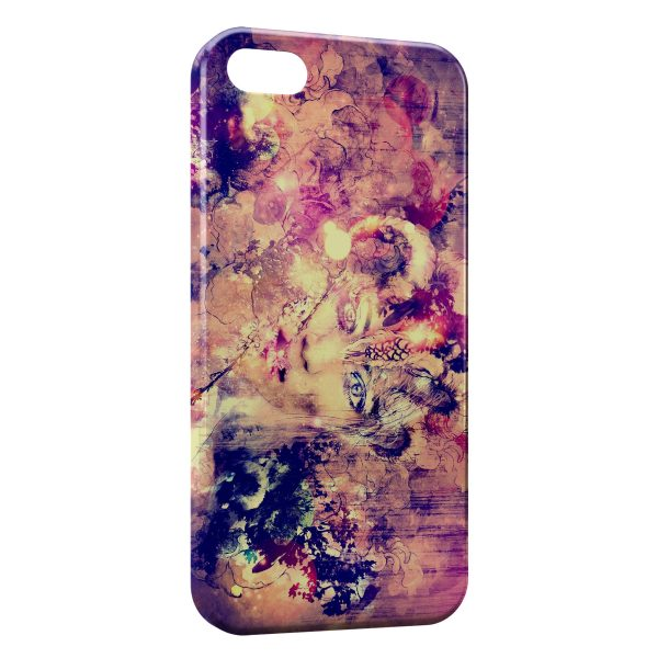 Coque iPhone 4 & 4S Abstract Painting