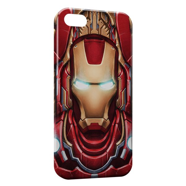 Coque iPhone 4 & 4S Advenger Iron Man 3 Red