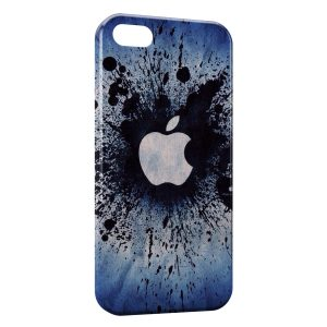 Coque iPhone 4 & 4S Apple Splash Logo Vintage