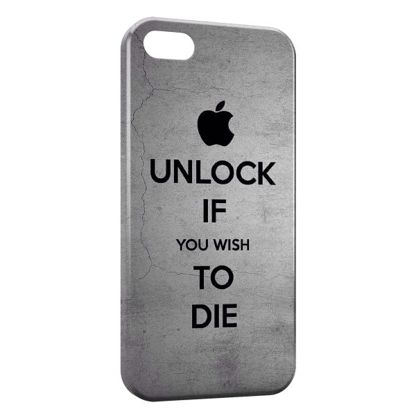 Coque iPhone 4 4S Apple Unlock If You Wish To Die 600x600