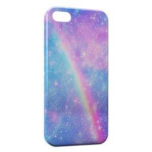Coque iPhone 4 & 4S Arc En Ciel
