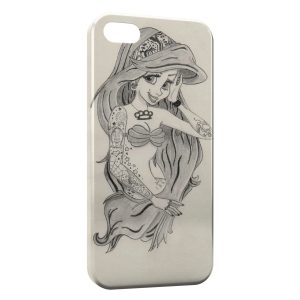 Coque iPhone 4 & 4S Ariel Punk Dessin