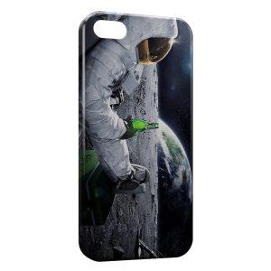 Coque iPhone 4 & 4S Astronaute Bière