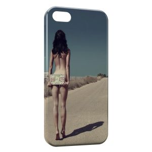 Coque iPhone 4 & 4S Autostoppeuse sexy