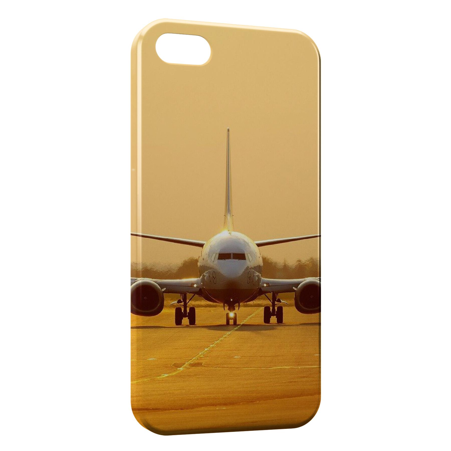 Coque iPhone 4 & 4S Avion Sunshine