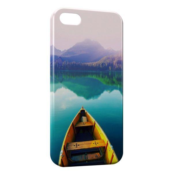 Coque iPhone 4 & 4S Barque & Nature