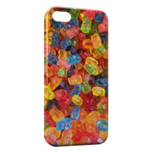 Coque iPhone 4 & 4S Beautiful bonbons colors