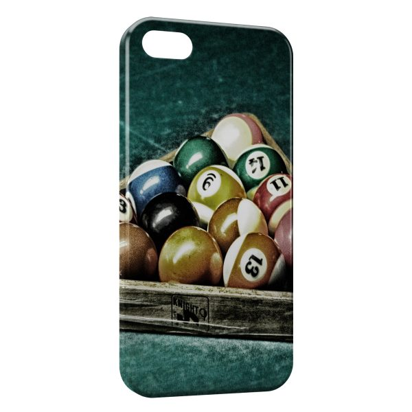 Coque iPhone 4 & 4S Billard Pro Vintage