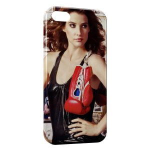 Coque iPhone 4 & 4S Boxeuse 2
