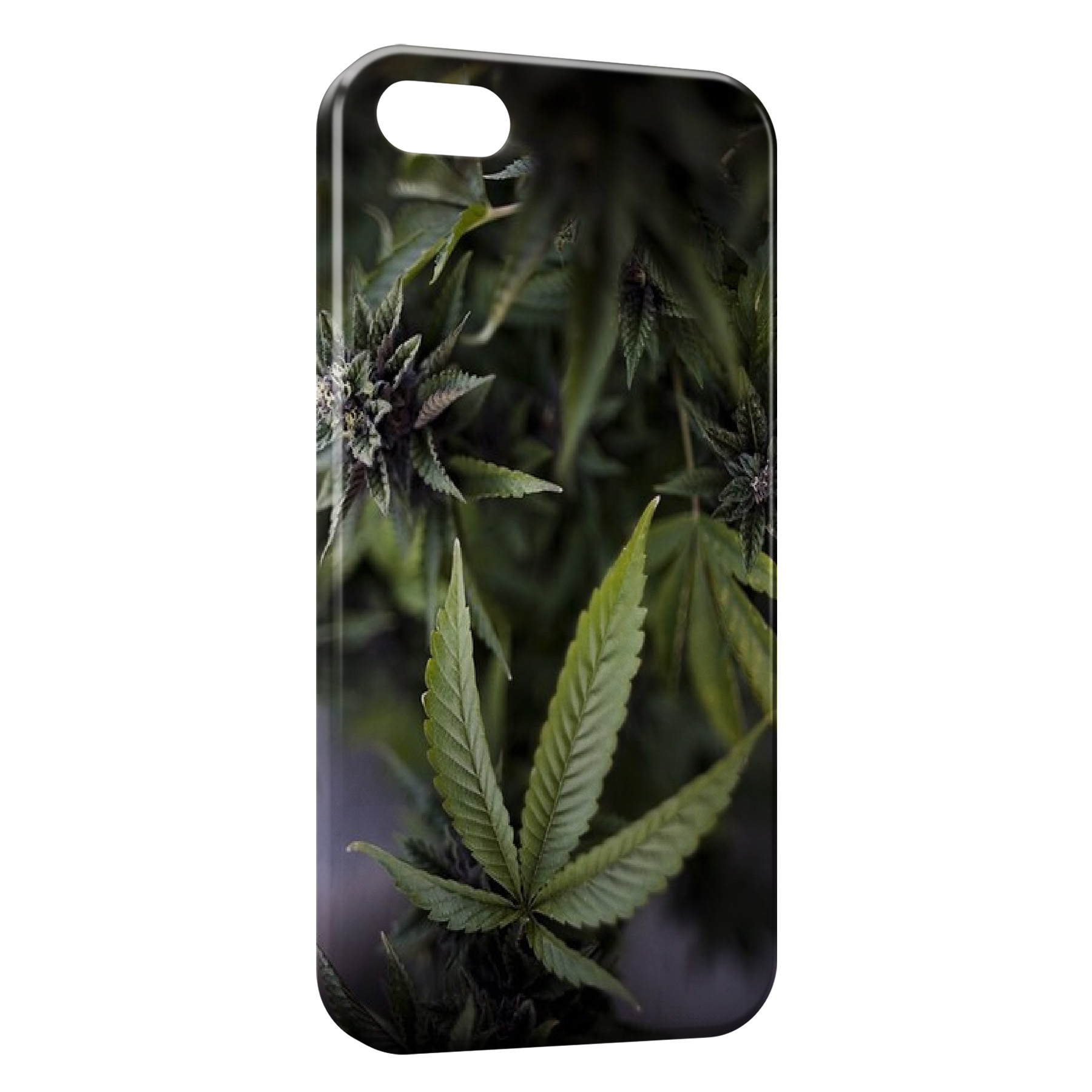Coque iPhone 4 4S Cannabis Weed 2