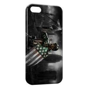 Coque iPhone 4 & 4S Captain America 3