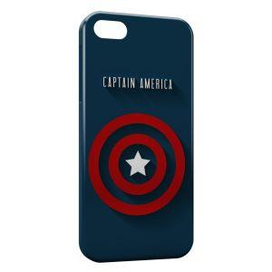 Coque iPhone 4 & 4S Captain America Logo
