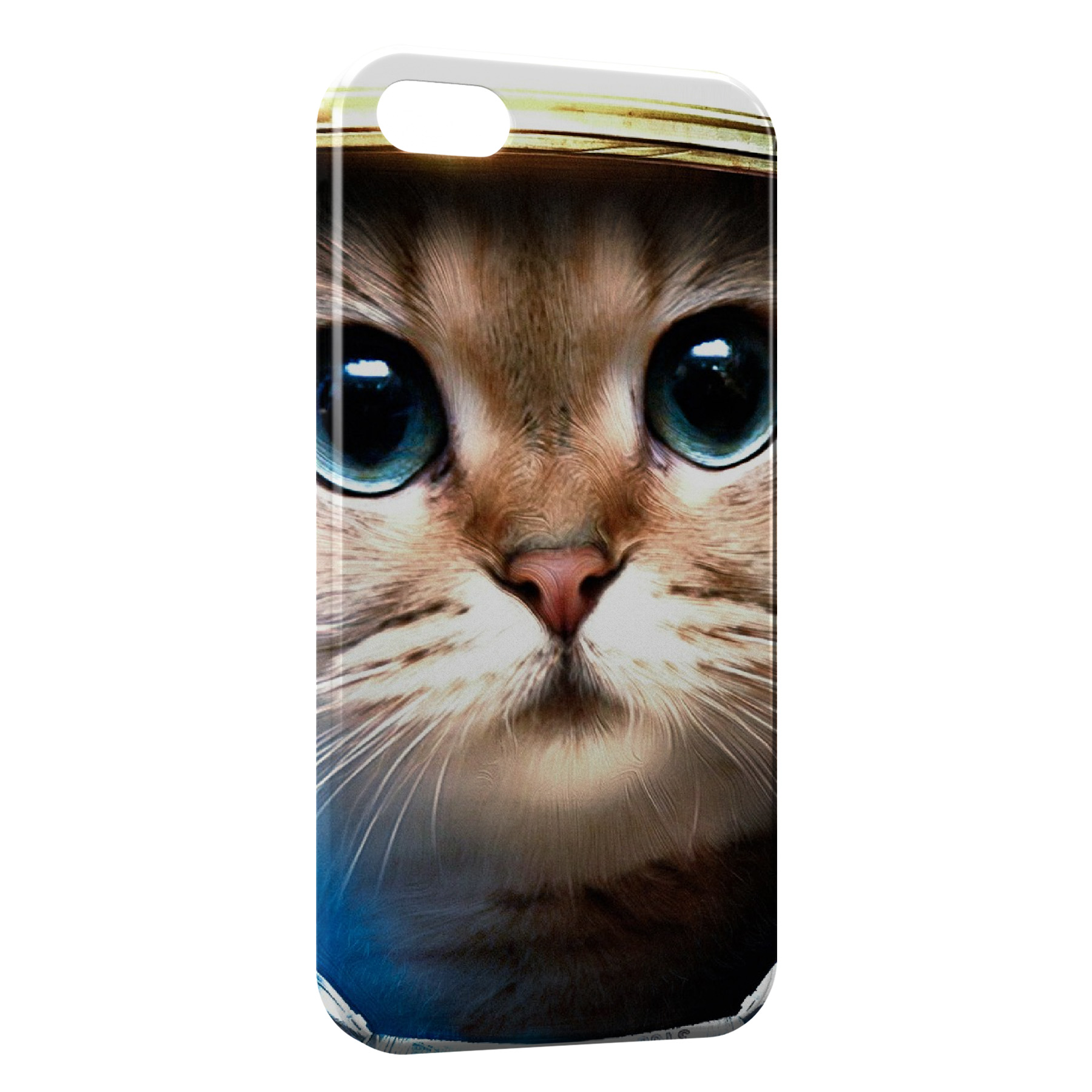 Coque iPhone 4 & 4S Chat Astronaute