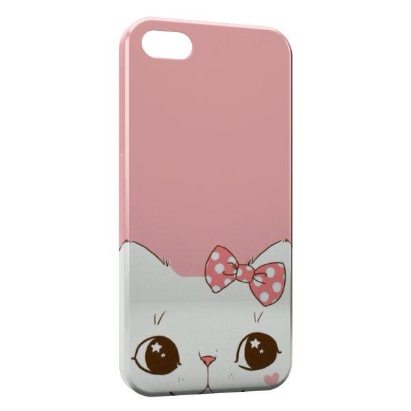Coque iPhone 4 4S Chaton Mignon 600x600