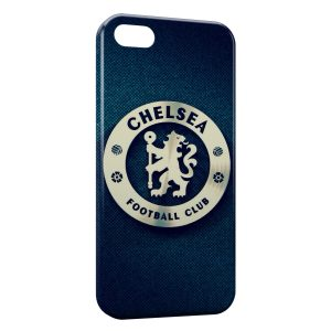 Coque iPhone 4 & 4S Chelsea FC Football Blue