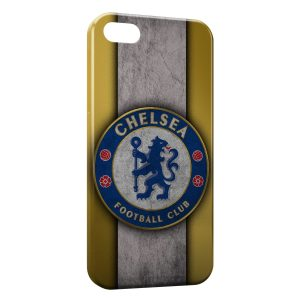 Coque iPhone 4 & 4S Chelsea FC Yellow & Blue