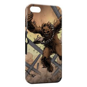 Coque iPhone 4 & 4S Chewbacca Star Wars 2