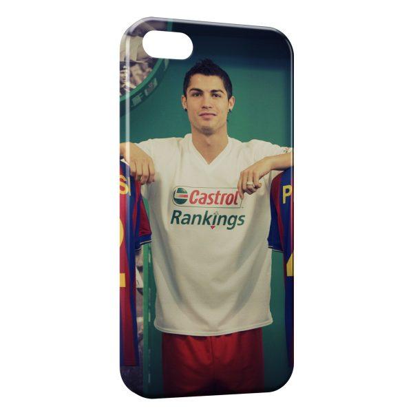 Coque iPhone 4 & 4S Cristiano Ronaldo Football 32