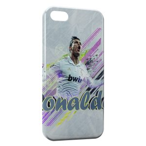 Coque iPhone 4 & 4S Cristiano Ronaldo Football 35