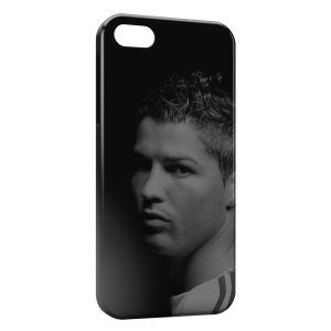 Coque iPhone 4 & 4S Cristiano Ronaldo Football 55