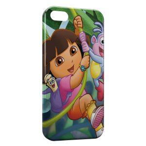 Coque iPhone 4 & 4S Dora l'exploratrice Jungle