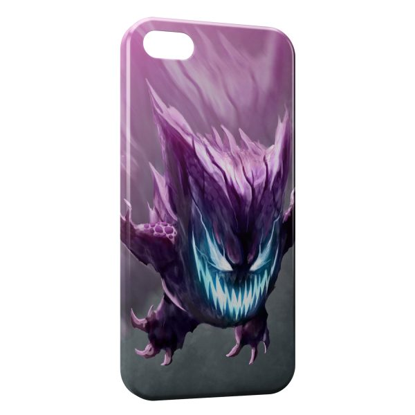 Coque iPhone 4 & 4S Ectoplasma Pokemon Design Graphic