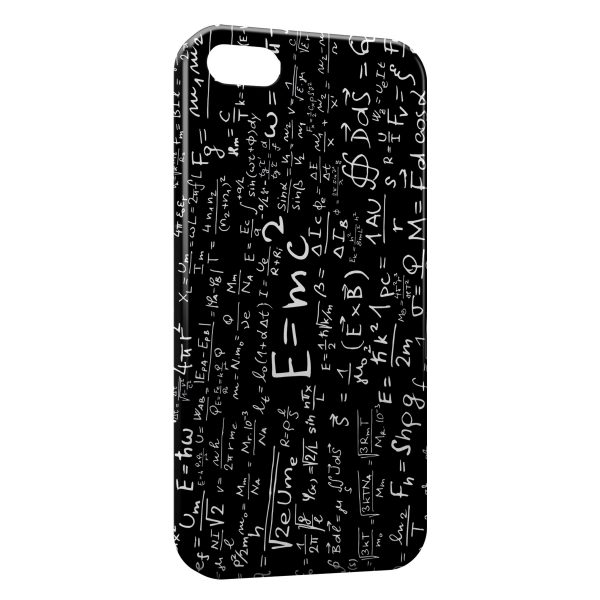 Coque iPhone 4 4S Equations 600x600