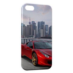 Coque iPhone 4 & 4S Ferrari City Red Voiture