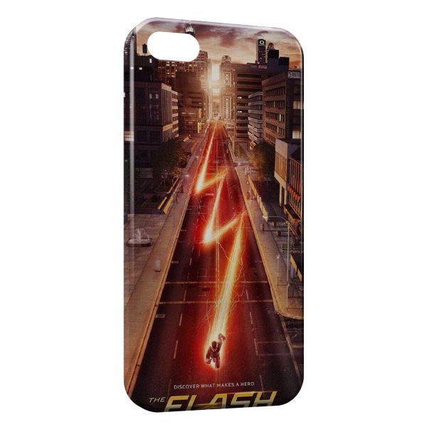 Coque iPhone 4 & 4S Flash Comics